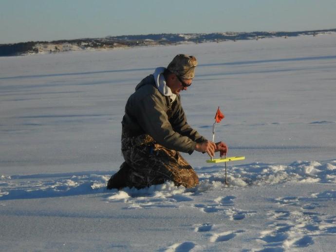 Platte creek lodge ice fishing photo 20 for South dakota ice fishing guides